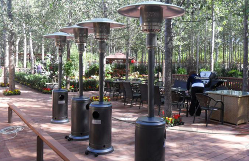 Classification of outdoor patio heater