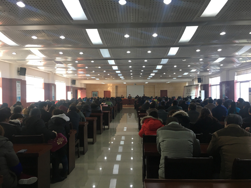 Jiangsu Gardensun Furnace Co.Ltd grandly held employee congress